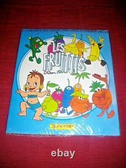 1991 Album Figurine Panini Les Fruittis Sigillato Completo Sealed Vintage
