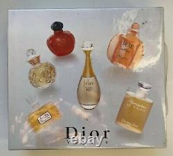 DIOR VOYAGE les parfums SET 6 X 5 ML EDT JADORE DUNE HYPNOTIC POISON VINTAGE