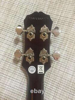Epiphone Les Paul Acoustic-Electric Concert Ukulele Outfit Vintage Sunburst
