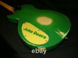 Epiphone Les Paul Jr Vintage Style John Deere Tractor Guitar By Boneyard Guitars