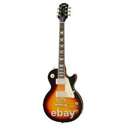 Epiphone Les Paul Standard 50s Electric Guitar in Vintage Sunburst Satin