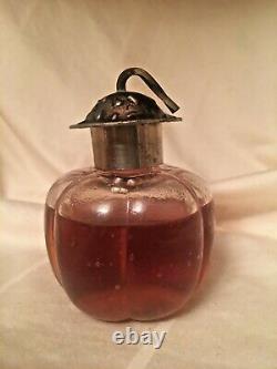 Extremely Rare Vtg 1913 Les Parfums Rosine Le Fruit Defendu Pure Parfum Nos