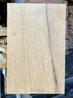 Flame QS Korina/Limba 1 pc 22x 15 X 1.90 Kiln Dried Les Paul Vintage Blonde