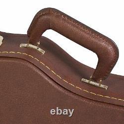 Gator Cases Vintage Brown Case for Gibson Les Paul Antique, Antique Deluxe