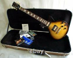 Gibson Les Paul Maple 2015 Vintage Sunburst with Case, G-Force Tuner USA Made
