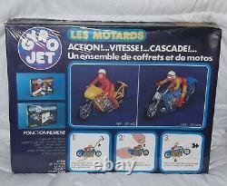 Gyrojet Gyro Jet LES MOTARDS Meccano années 70-80 vintage Neuf