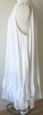 Les Ours Ecru (Cream) Cotton Jade Dress Romantic Vintage Style