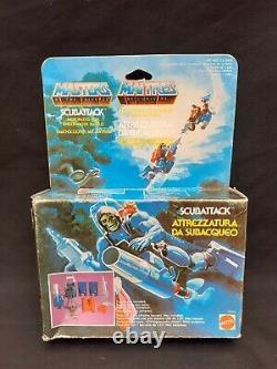MOTU Pack Scubattack Les Maitres de l'Univers Vintage Mattel A-21 Musclor He-Man