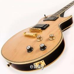 NEW! Vintage Brand V100MP electric LES PAUL guitar HH in natural maple finish
