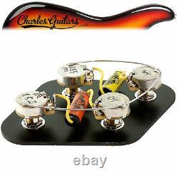 Rs Guitarworks Pre-wired Short Shaft Les Paul Vintage Upgrade Kit (rs16006)