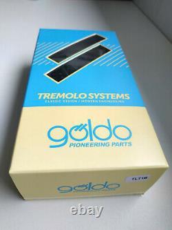 Tremolo LES TREM by Goldo (Goldeo) remplace StopTail, LP, ES SG Black TLT1B