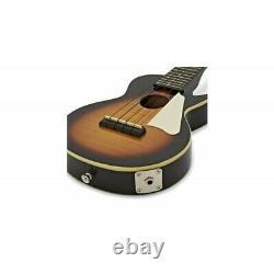 Ukelele EPIPHONE Les Paul Tenor Vintage Sunburst Electrificado