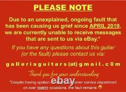VINTAGE V132 LES PAUL Jr TV YELLOW P90 FREE UK SHIPPING