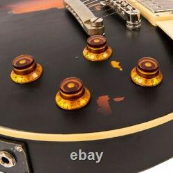 Vintage Brand V100MRBK Les Paul Electric guitar Relic Black PRE ORDER