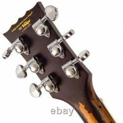 Vintage Brand V100MRGT Les Paul Electric guitar Relic Gold Top PRE ORDER