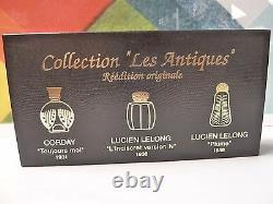 Vintage Collection Les Antiques Parfums Set Of 3 Nib