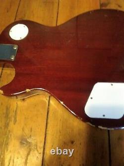 Vintage Guitar Cimar by Ibanez Les Paul 70s Japan Mij Serviced new Strings