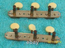 Vintage Kluson No Line 3x3 Plate tuners new Buttons Gibson Les Paul Jr J-45 50's