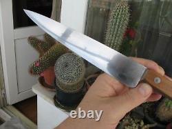 # Vintage SABATIER Style LES 2 DIABLES FORGÉ Chef's Knife 7.64 (194 mm)