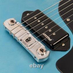 Vintage V120MRGHB Les Paul Jr Electric guitar Relic Blue / Sunburst PRE ORDER